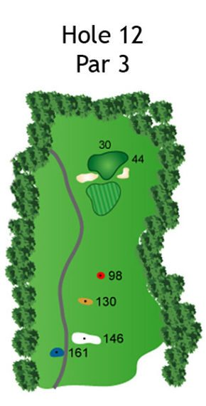 Layout of The Nightmare Hole 12