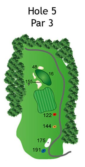 The Nightmare Course Layout The Nightmare Golf Course