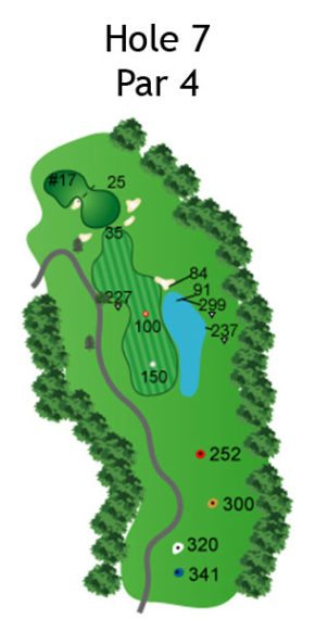 Layout of The Nightmare Hole 7
